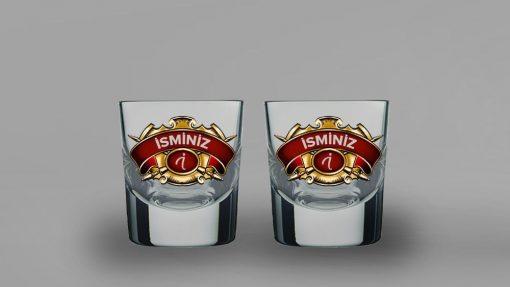 Chivas Regal İsimli İkili Kalın Viski Bardağı