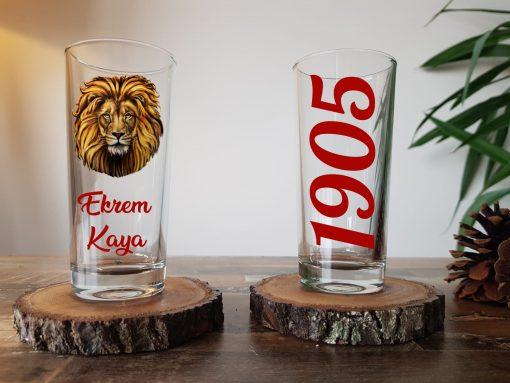 Galatasaray rakı bardağı