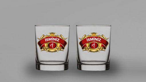 Chivas Regal İsimli İkili Viski Bardağı
